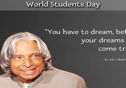 Dragi naši studenti, sretan vam Međunarodni dan studenata!