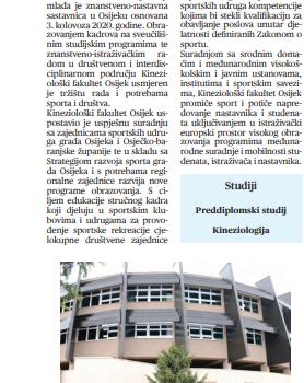 Pokretom i znanjem u izvrsnost (Sveučilišni glasnik), 11. prosinca 2020.