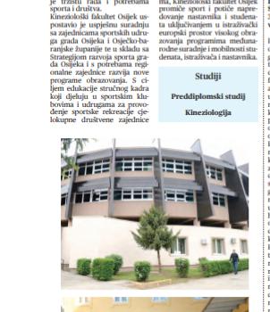 Kineziološki fakultet-Pokretom i znanjem u izvrsnost (Sveučilišni glasnik), 11.prosinac.2020.